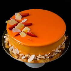 Layers of dacquoise, coconut mousse, passion fruit cremeux and paillete feuilletine come together into one amazing cake!