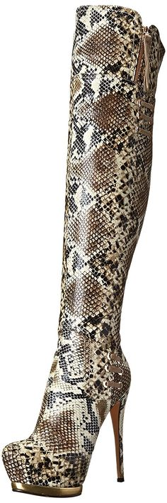 c5cfb4b1fac Luichiny Women s May La Boot. This fierce boot is one of a kind. It