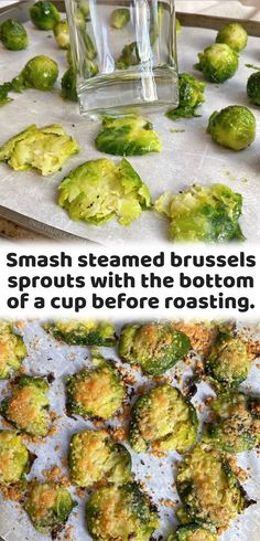 Crispy Smashed Brussels Sprouts