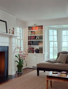 TheFullerView -great windows and bookshelves