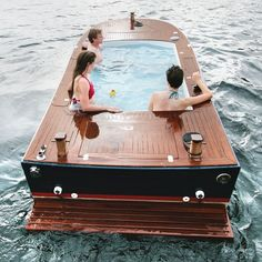 Tub boats...omg, is this a real thing?