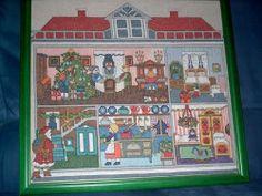 Burda Christmas House