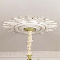sun burst ceiling medallion
