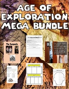 This bundle includes the following products: 1. Christopher Columbus: Murder Mystery 2. Columbian Exchange 3. Age of Exploration Presentation 4.