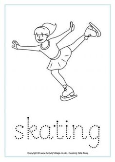 Make handwriting practice fun with this collection of handwriting worksheets based on some of the Winter Olympic sports. Preschool Worksheets, Craft Activities For Kids, Winter Activities, Preschool Kindergarten, Kids Olympics, Winter Olympics, Olympic Sports, Olympic Games, Vive Le Sport