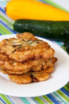 Italian recipe for Pitticelle Cucuzze (Zucchini Fritters). A favourite from www.anitaliancanadianlife.ca