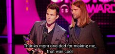 9. That time he nonchalantly accepted his People's Choice Award… | Community Post: 28 Times Adam Levine Proved He Was The Sexiest Man Alive