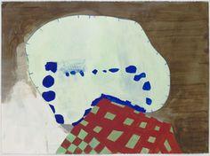THOMAS NOZKOWSKI Untitled (P-47) 2008 oil on paper 22 x 30 inches