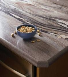 Formica Dolce Vita IdealEdge. Yes, that is laminate!