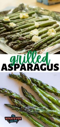 My perfect grilled asparagus recipe gets rave reviews! Simple, delicious, and loved by many. Instructions for your pellet grill too! How To Cook Asparagus, Grilled Vegetables, Veggies, Asparagus On The Grill, Grilling Asparagus, Asparagus Dishes, Grilled Food, Grilling Recipes, Clean Eating Snacks