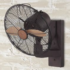Wall Mounted Indoor/Outdoor Fan