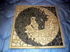 horse mosaic stone by marius tutovan, via Flickr