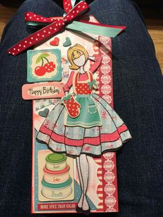 Julie Nutting paper doll tag