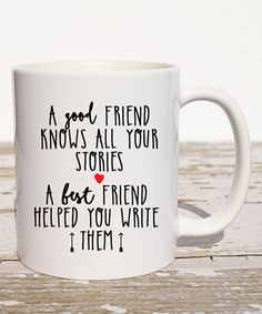 Take a look at this Ceramic 'Best Friend' Mug today!