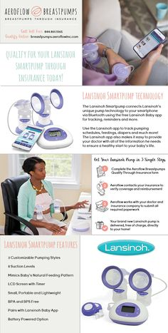 You may qualify to get your Lansinoh Smart Pump free through insurance!