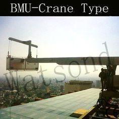 BMU-CRANE TYPE MACHINES - China window cleaning, Watsond
