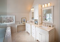 Upper Arlington renovation, OH. Westwood Cabinetry and Millwork.