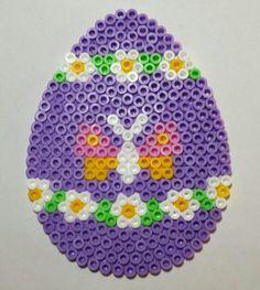 Easter egg hama beads by Sylvana