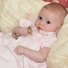 Sweet Pippa is celebrating her Great Grandmothers 90th birthday wearing her Mommy's 27 year old Feltman Brothers dress! Amazing! http://www.feltmanbrothers.com/