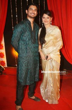 Sushant Ankita Zee Rishtey Awards 2010