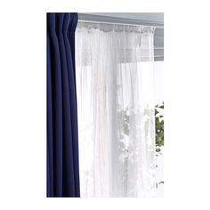 LILL Lace curtains, 1 pair - IKEA
