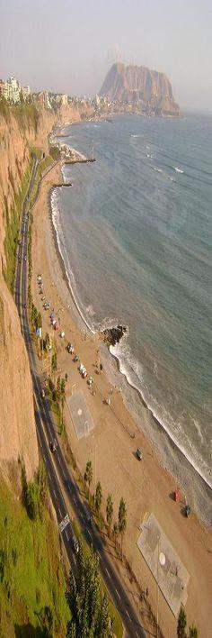 La Costa Verde, Lima, Peru... quite a coastline...    http://www.mariosconstruction.com/TRAVEL.html
