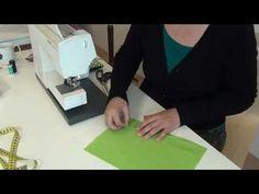 tutorial 3: 2x zak met aangeknipt heupdeel - YouTube