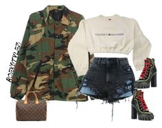 """-"" by roexstylez89 ❤ liked on Polyvore featuring HUF, Alexander Wang, Dsquared2 and Louis Vuitton"