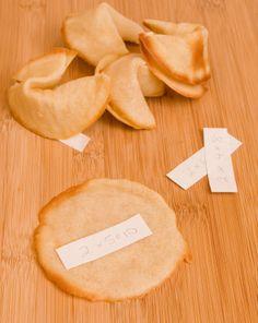 Activities: Fortune Cookie Recipe