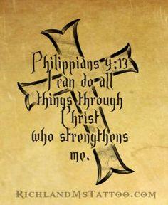 Bible Verse Tattoo Design