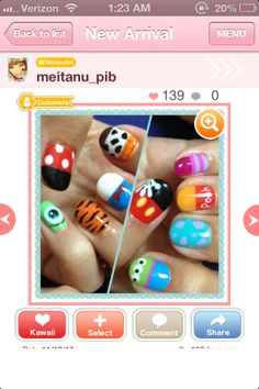 Disney nail art!