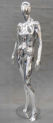 Something Amazing to just speak to my personality and stand in my Living Room - Chrome Mannequin