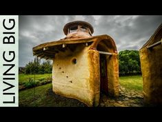 ▶ The Tiny Earthbag House Domes of Solscape Ecovillage - YouTube