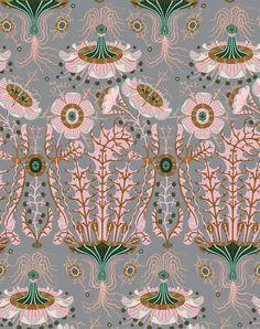 Equinoxe Wallpaper by Klaus Haapaniemi