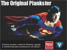 envíanos tus fotos o videos de Planking y gánate 2 noches 3 días en Los cabos, sólo con Prego & la Red Social VIELITE