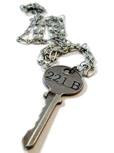 The Key to 221B Necklace
