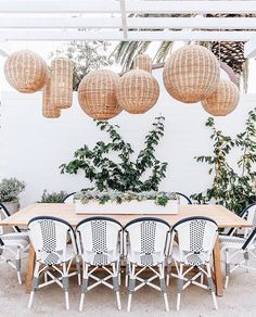 "1,085 Likes, 9 Comments - Serena & Lily (@serenaandlily) on Instagram: ""The perfect set-up for outdoor entertaining. #regram via @californiaweekend at #SLnewportbeach.…"""