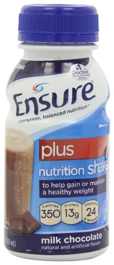 weight gain shake | Ensure Plus: A convenient weight gain shake supplement, ready to use