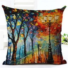 High Quality Creative Fashion Scenic Sofa Cushion