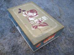 Japan Antique Box Mitsubishi Business Name Card