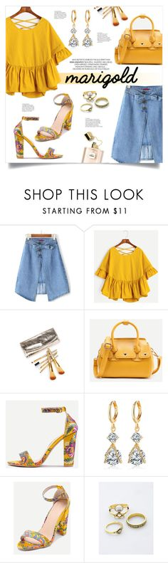 """""""Stay Golden: Dressing in Marigold"""" by mahafromkailash ❤ liked on Polyvore"""