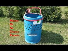The Mother of all Chicken Pluckers and how to built it. - YouTube
