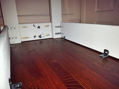 DIY Drop Leaf Kitchen Island / Cart - Bachelor on a Budget Drop Leaf Kitchen Island, Kitchen Island Table, Kitchen Island Do It Yourself, Small Kitchen Tables, Craft Tables, Painting Trim, Leaf Table, Space Saving, Budget