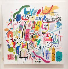 Kindah Khalidy — Innocnts Painting Inspiration, Art Inspo, Posca Art, Painting & Drawing, Watercolor Art, Modern Art, Art Projects, Art Drawings, Illustration Art