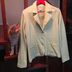 Sundance lambs wool jacket/C Never worn/great condition/retro lime green Sundance Jackets & Coats