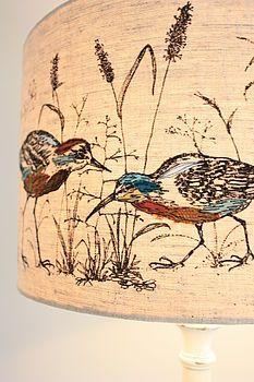 'Wading Birds' Lampshade