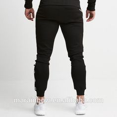 915934ee90ee Men s Gym Sweatpants Jogger – Black