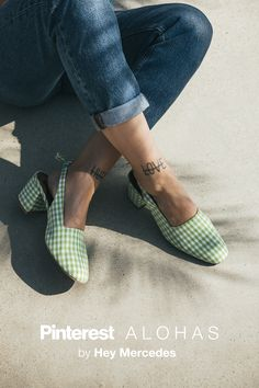 Excited to announce my collaboration with Pinterest x ALOHAS. This new capsule collection carries one of my very own shoe designs! Inspired by the spring summer trends that are coming in strong this year. Visit @alohas to shop my creation for you! Spring Summer Trends, Designer Shoes, Gingham, Espadrilles, Charlotte, Shoe Designs, Heels, Boots, Collaboration