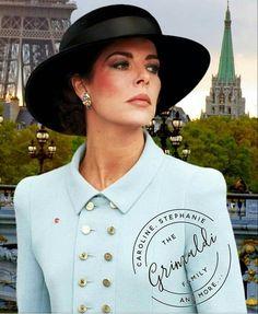 Princess Stephanie, Princess Charlene, Patricia Kelly, Grace Kelly, Princesa Carolina, Monaco Royal Family, Charlotte Casiraghi, Cool Style, Ready To Wear
