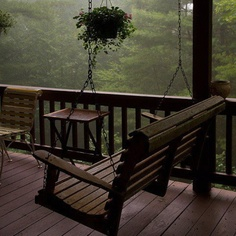 Where I would love to sit and drink a great cup of coffee first thing in the morning.
